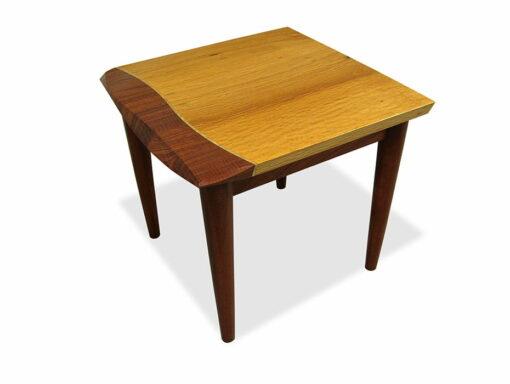 Silhouette Sheoak And Jarrah Inlay Sofa Table