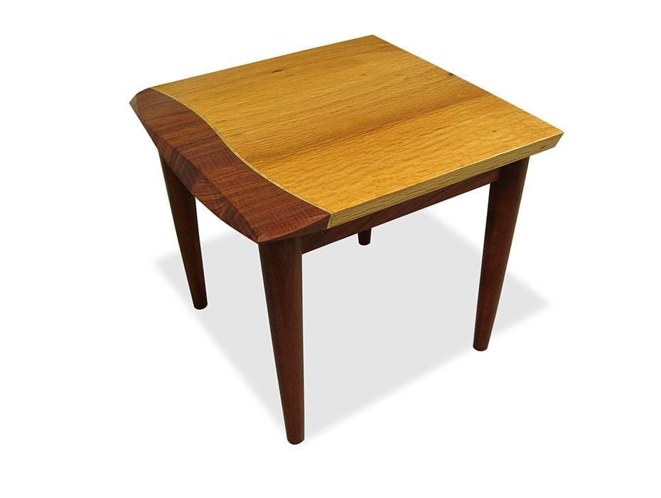 Silhouette Timber Sofa Table Fine Art