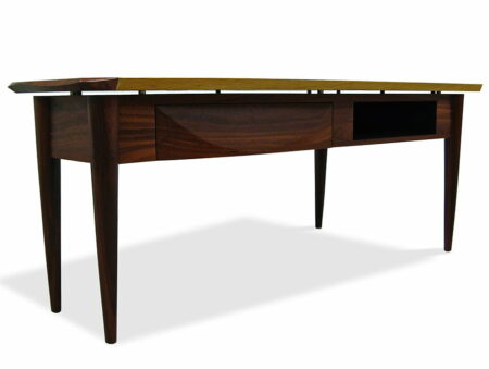 Silhouette Sheoak And Jarrah Inlay Tv Cabinet Side