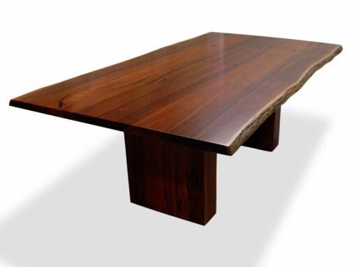 Slab Jarrah Timber Dining Table 2100L X 1150W Natural Edges