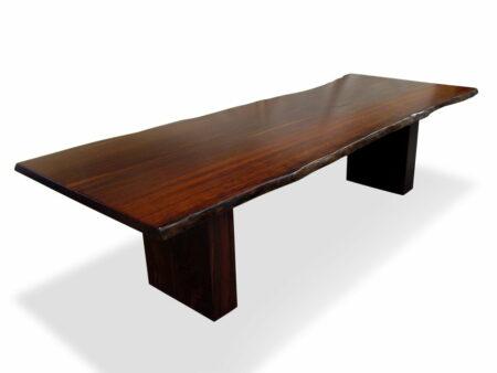 Slab Jarrah Timber Dining Table 3ml X 1100w Single Slab