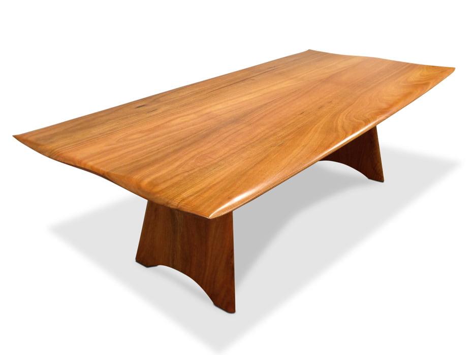 Spock Modern Dining Table Fine Art