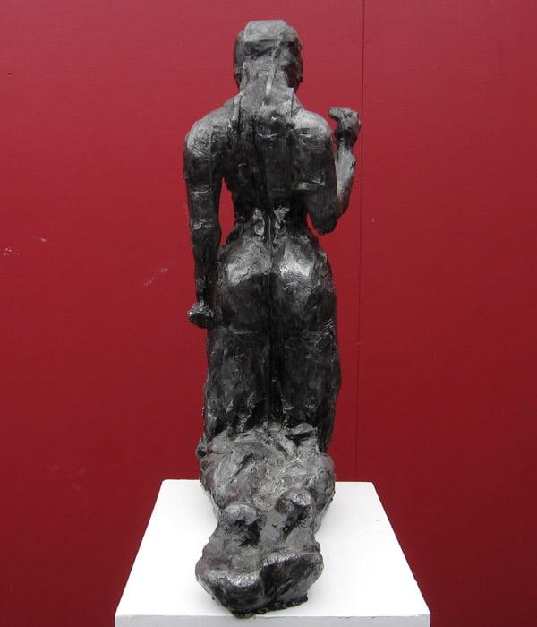Toby Bell Ariel 2 Sculpture Back View