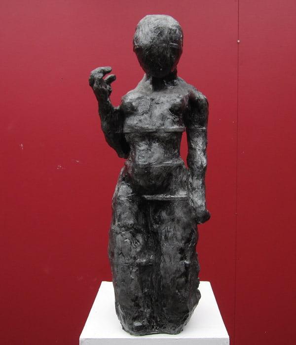 Toby Bell Ariel 2 Sculpture Front View