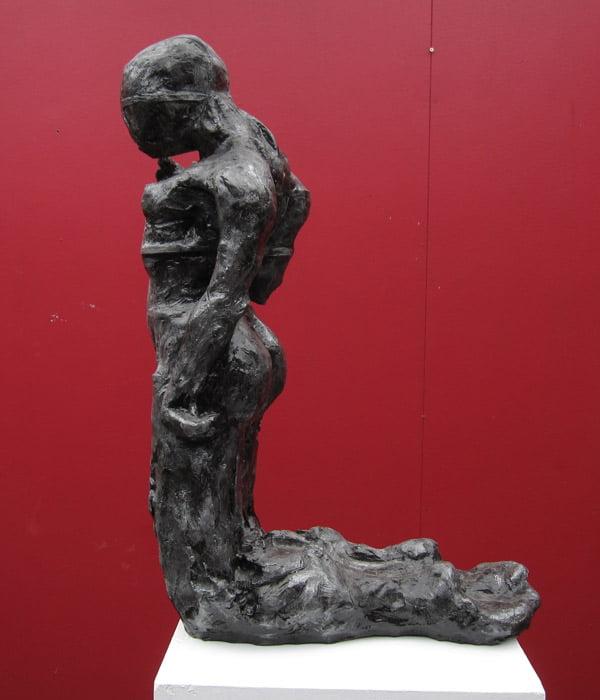 Toby Bell Ariel 2 Sculpture Side View