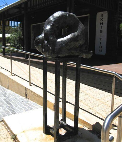 Toby Bell Medium Portal Sculpture Full View