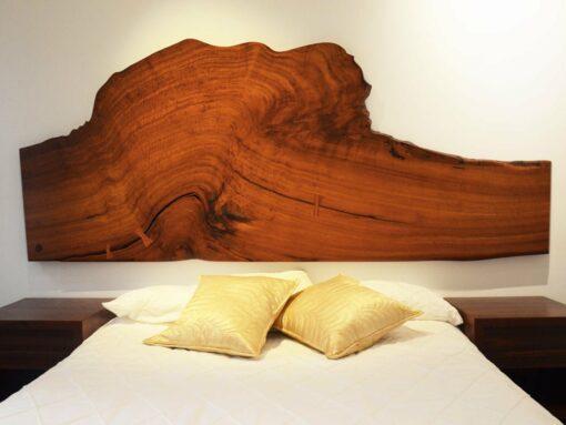 Karri Burl Wall Hanger Bed Head 3