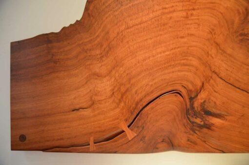 Karri Burl Wall Hanger Bed Head Detail