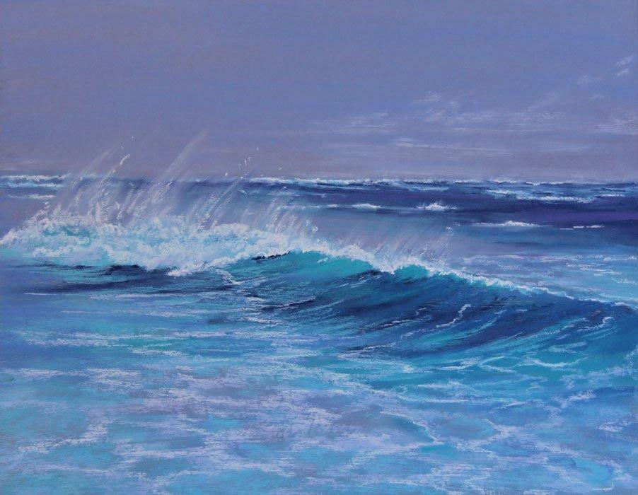 Ann Steer Summers Song Pastel 71X61Cm
