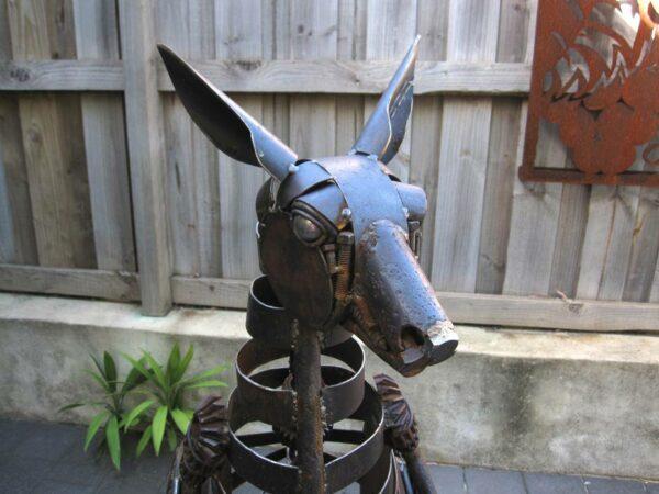 Jordan Sprigg Kangaroo Head Detail