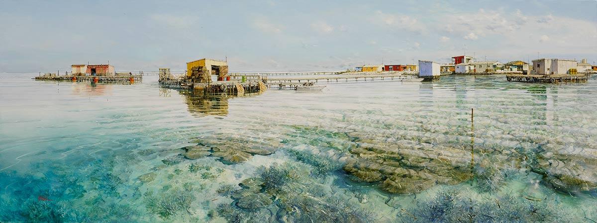 Larry Mitchell   Basile Island Fine Art
