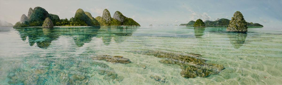 Larry Mitchell   Wayag, Raja Ampat Fine Art