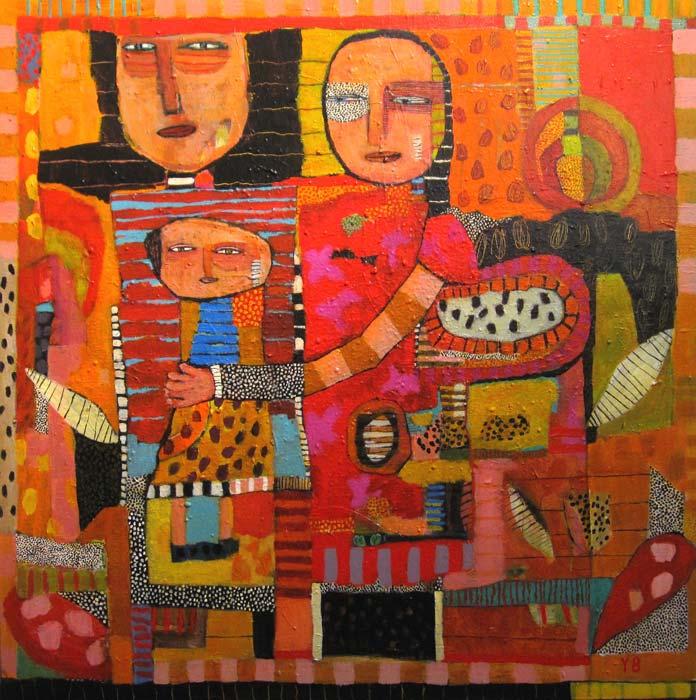 Yolande Barker   Family Fine Art