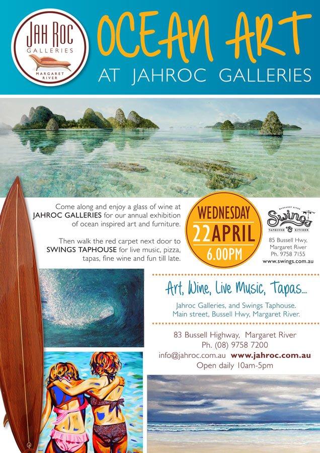 Ocean Art Jahroc Poster