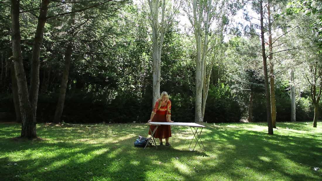 Karin Luciano On The Meseta Palencia Region Spain