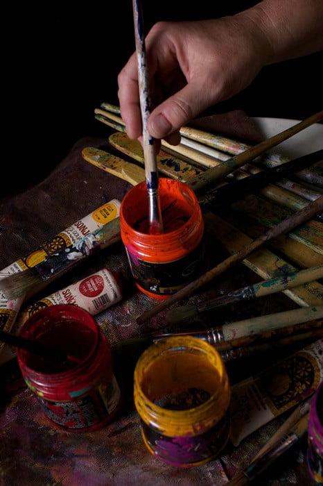 Karin Luciano Paint Pots