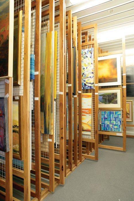 Painting Rack Room