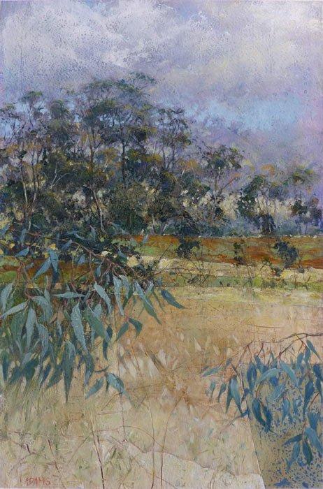 Philip Adams   A Bit of Blue Fine Art