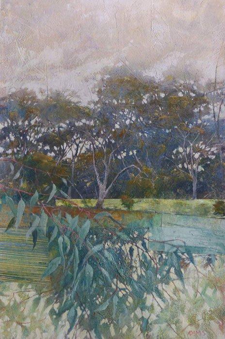 Philip Adams   Blue Bush Fine Art