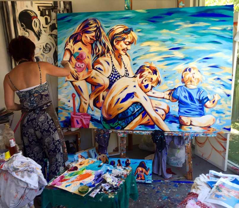 Shannon Hamilton Artist   Up Close and Personal Fine Art