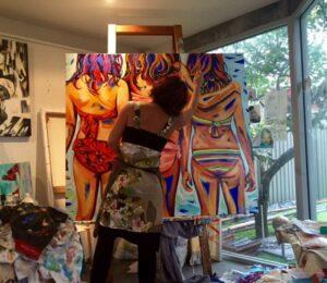 Shannon Hamilton Artist Up Close And Personal In Studio 4