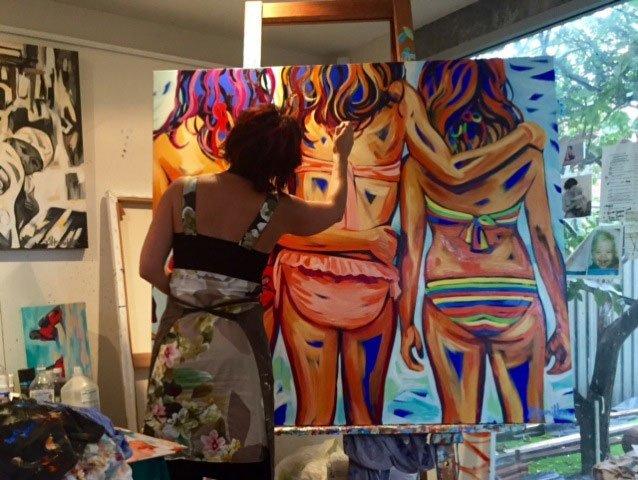 Shannon Hamilton Artist Up Close And Personal In Studio 6