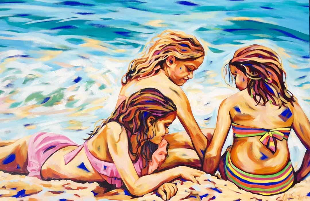 Shannon Hamilton Recent Commission 3 Sisters