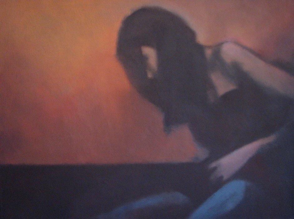 Alan Marshall   Blue Stockings 3 Fine Art