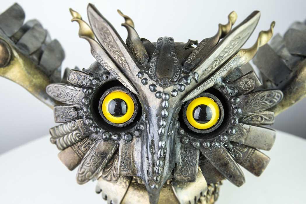Daniel Fisher Medieval Owl Fine Furniture Design