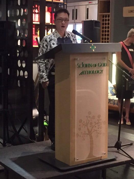St John Of God Fundraiser At Bambamboo Jason Tan Speaking