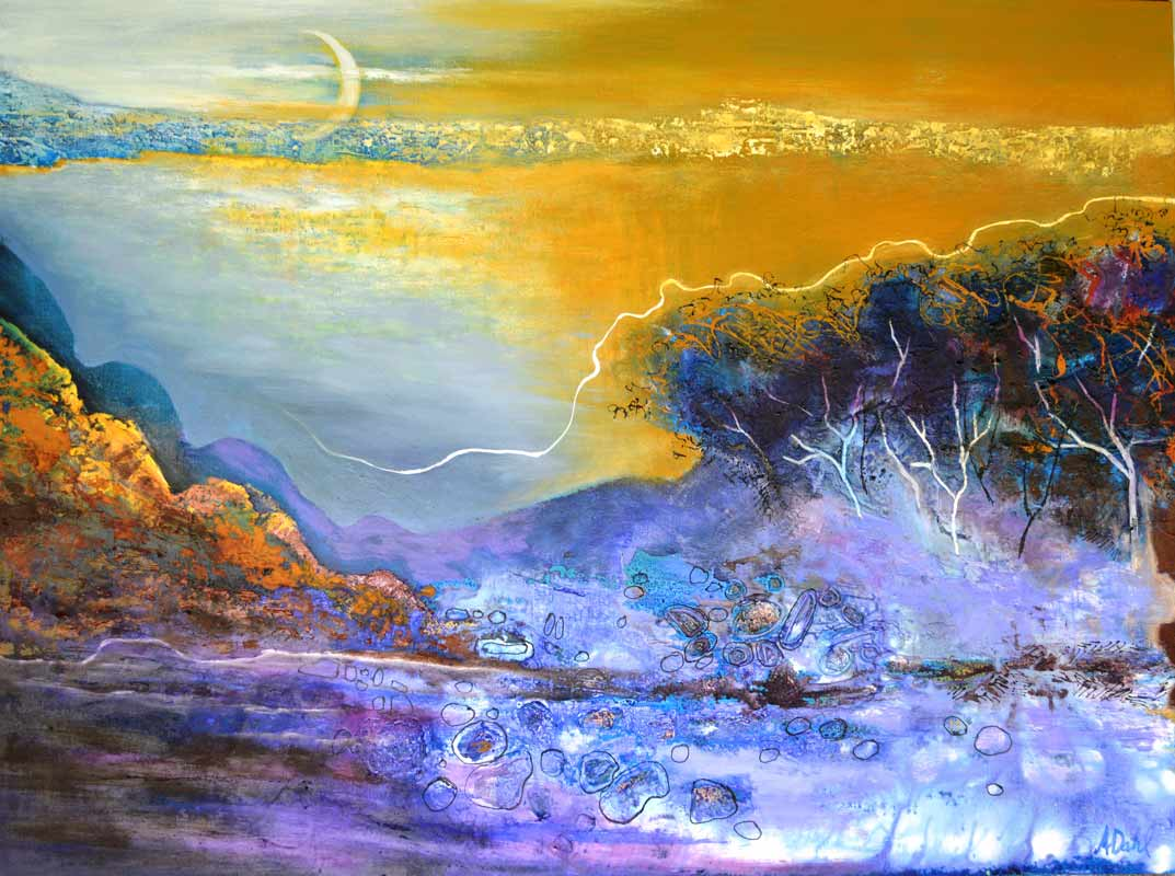Astrid Dahl The Moon Exposes All 120X90