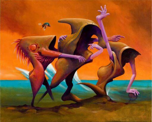 John Mcintosh Unassailable Truths 2 152x122cm