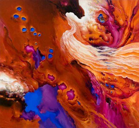 John Mcintosh Viva La Vida 183x168cm