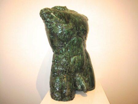 Lauren Rudd Male Gesture Torso Sculpture