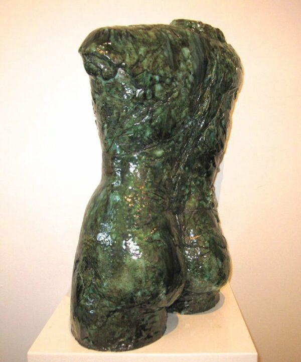 Lauren Rudd Male Gesture Torso Sculpture Side