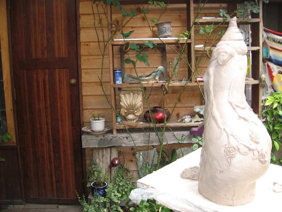 Lauren Rudd Sculptures Studio 2