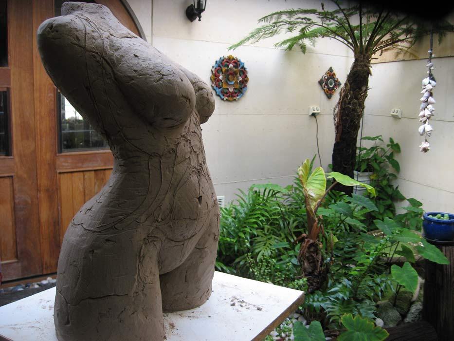 Lauren Rudd Sculptures Studio 3