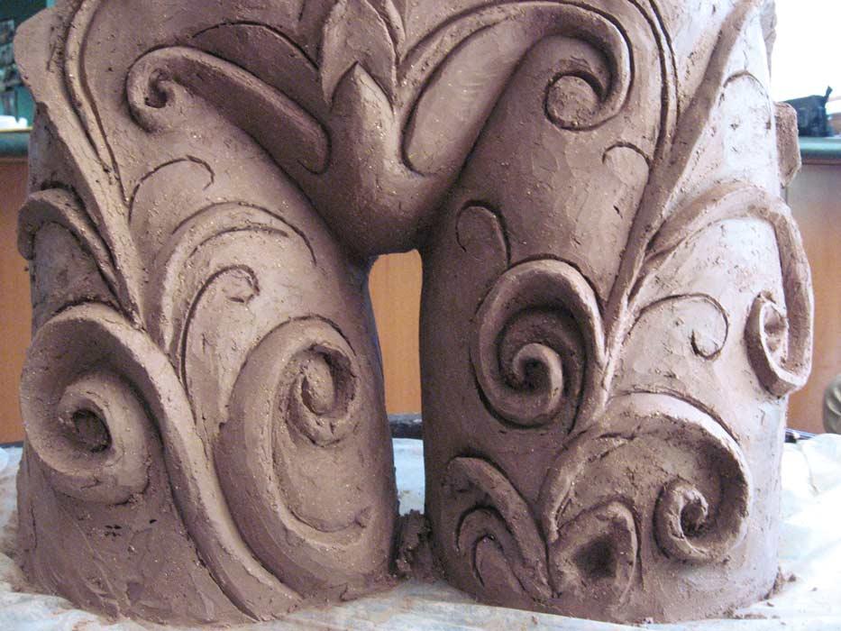 Lauren Rudd Sculptures Detail