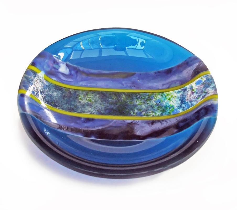 Margaret Heenan Blue Moon 16X16Cm