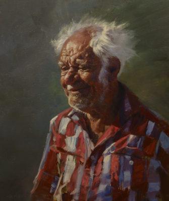 Andrew Tischler   Allan Griffiths Portrait Fine Art
