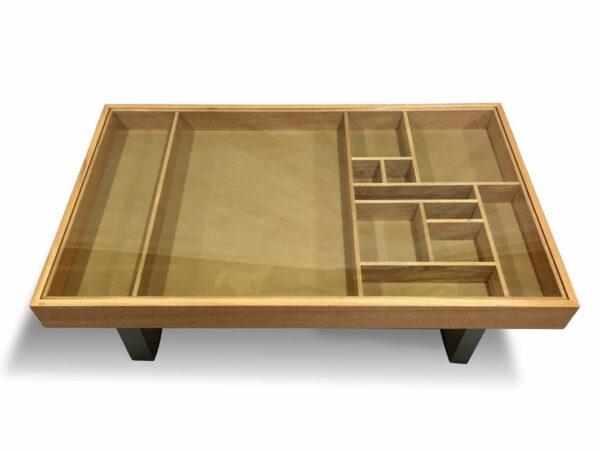 Display Timber Coffee Table Marri Timber 1300Lx800Wx400H Top