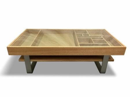 Display Timber Coffee Table Marri Timber 1300lx800wx400h