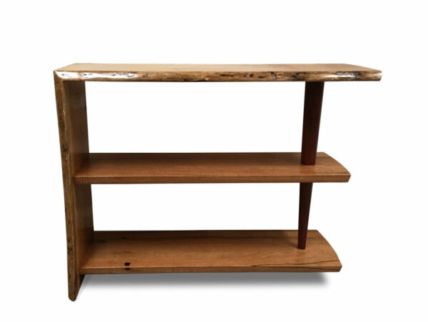 Gnarabup Marri Timber Bookcase 1000W X 320D X 740H Front
