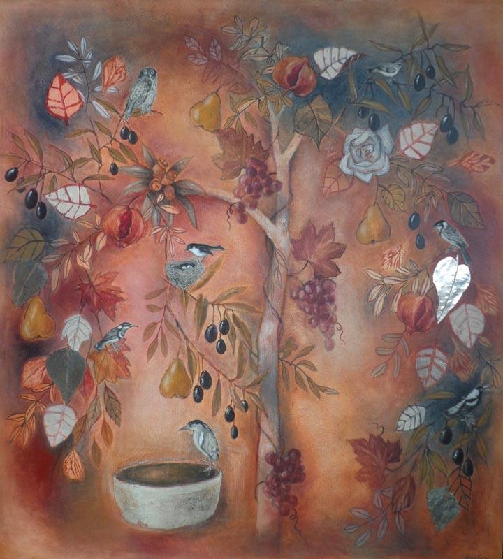 Helen Forbes   Twilight Garden Fine Art