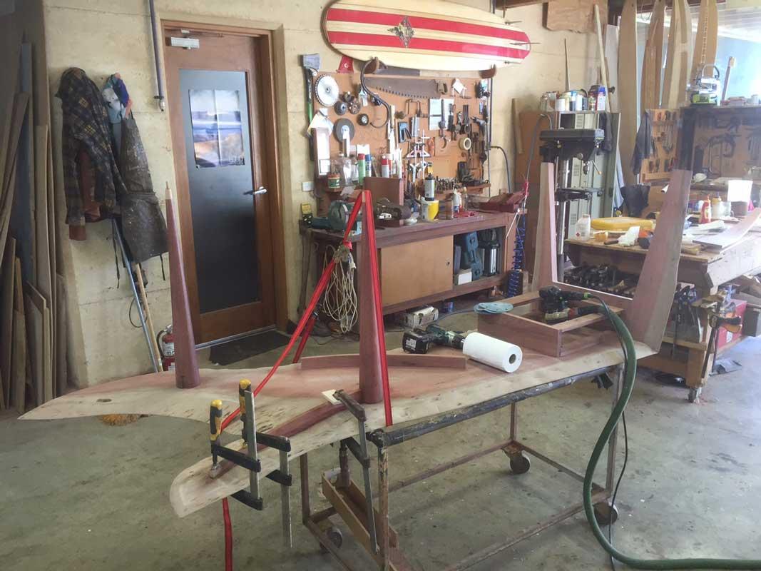 In Motion Jarrah Desk Construction 6