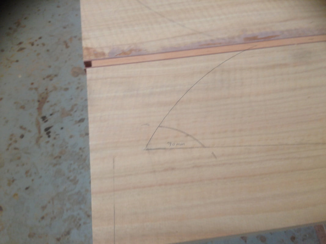 Marri Fish Hall Table In The Making 5