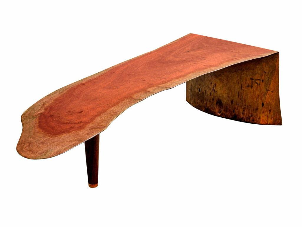 Mick Coffee Table Jarrah Skin Single Slab 1780Lx580Wx400H