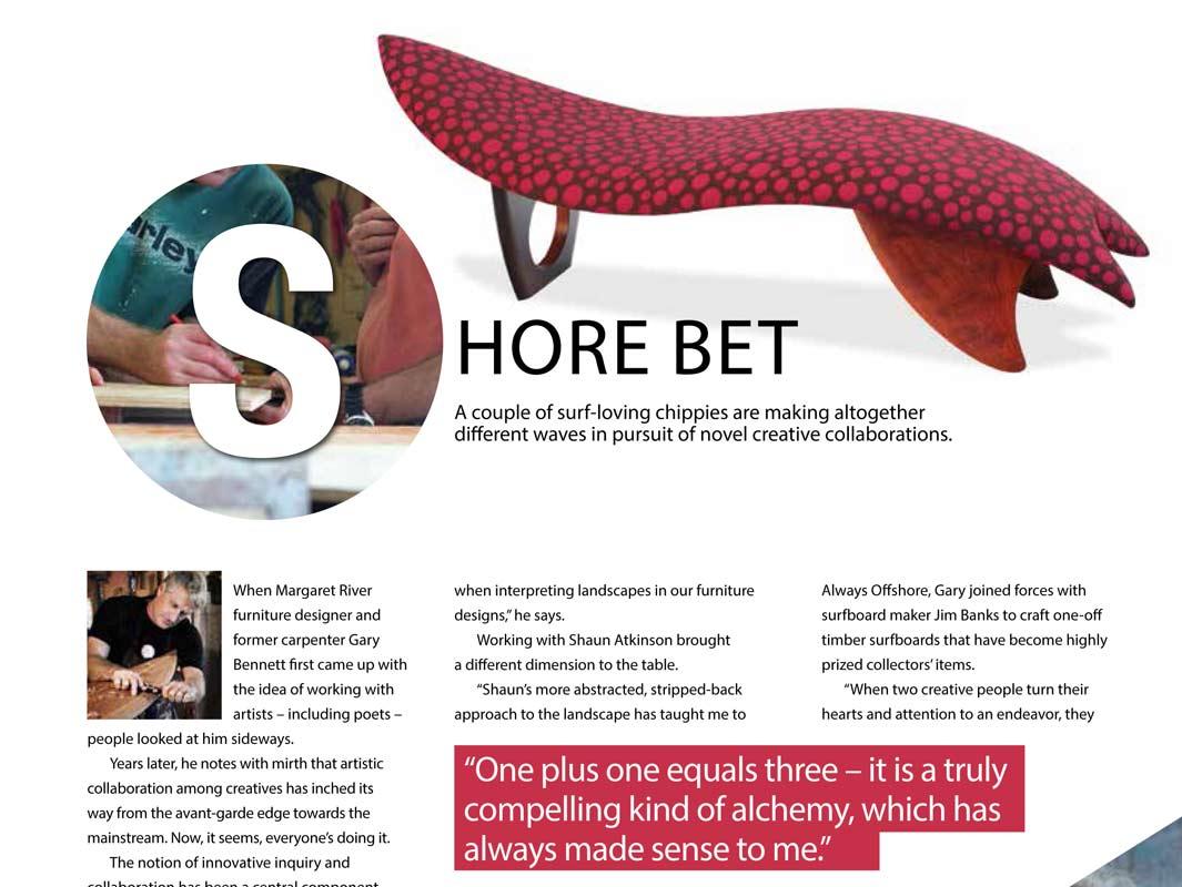 Shore Bet - Editorial Gary Bennett & David Paris