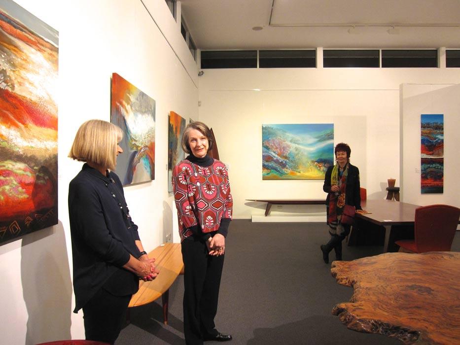 Astrid Dahl & Margaret Heenan   Exhibition Opening Speeches Fine Art