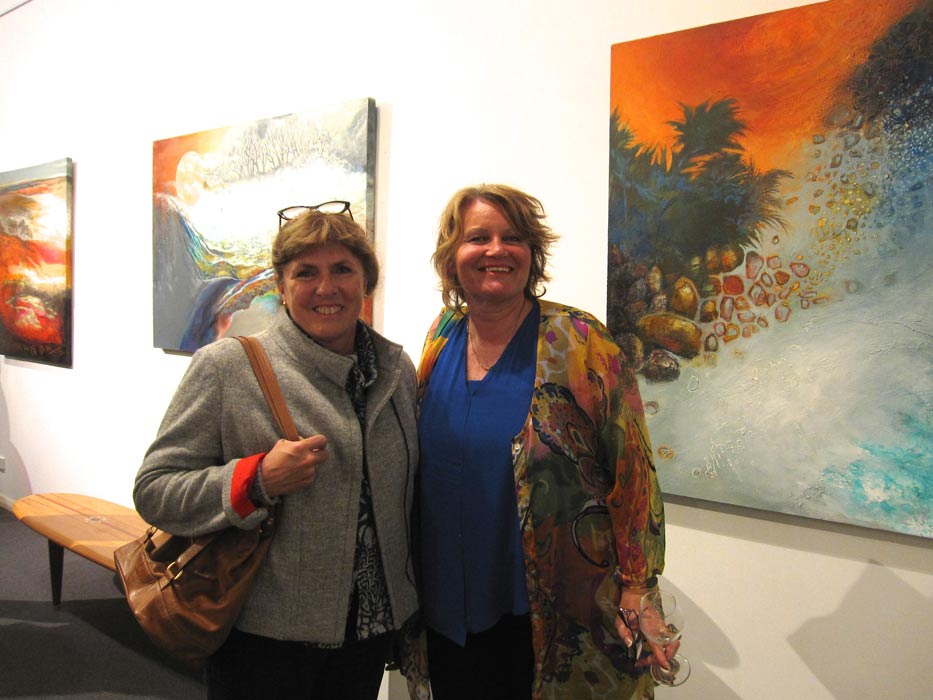 Earths Poetry Exhibition Opening Night